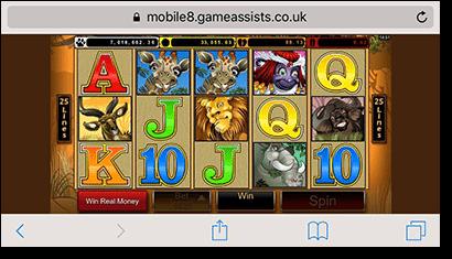 Mega Moolah online progressive slot game