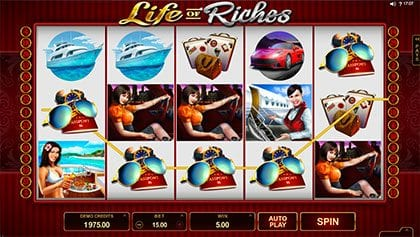 Life of Riches online slot game