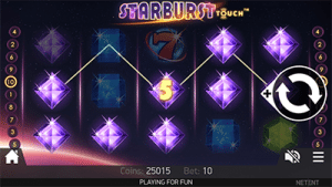 Starburst mobile slot