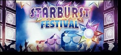 Starburst festival at LeoVegas.com