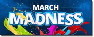 March Madness at Roxy Palace Casino