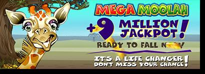 Mega Moolah jackpot eclipses $9 million