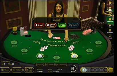 Live Common Draw Blackjack HD - Mobil6000