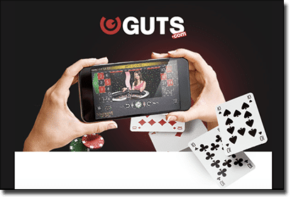 Guts mobile casino adds live dealer