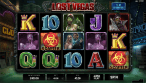 lost vegas pokie