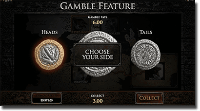Gamble feature in online slots