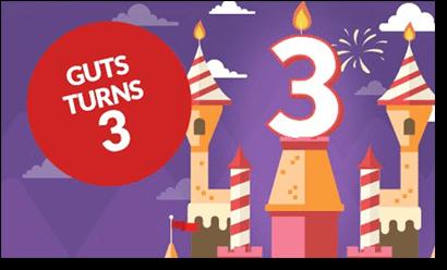 Guts.com turns 3