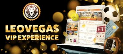 Leo Vegas VIP Experience promotion