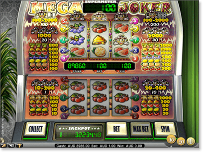 Mega Joker slot by Net Ent