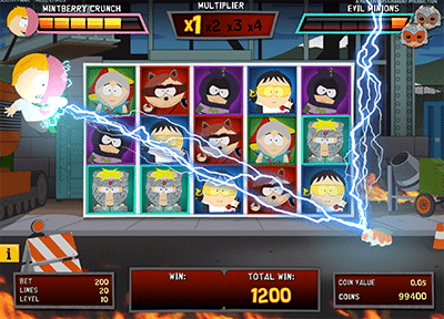 South Park: Reel Chaos slot by NetEnt