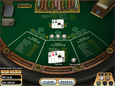 Ride'm Poker by BetSoft Gaming