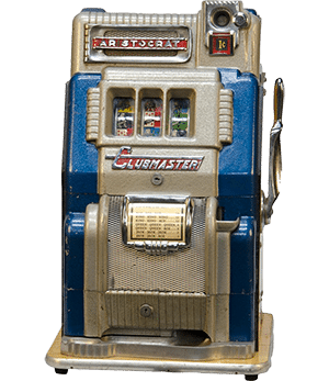Aristocrat Clubmaster poker machine