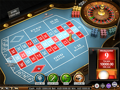 NetEnt French Roulette Pro
