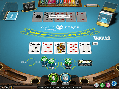 Oasis Poker by Net Entertainment