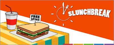 SlotsMillion Slunchbreak promotion