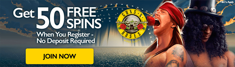 Free spins at G'Day