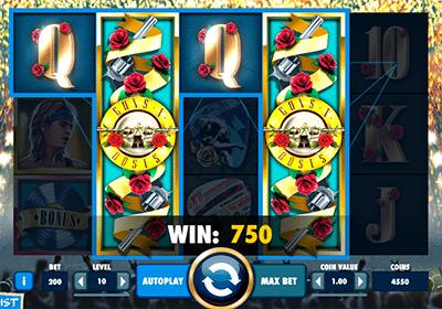 Guns N Roses online slot game