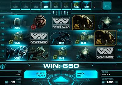 NetEnt Aliens online slot