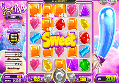 SugarPop slot game by Betsoft