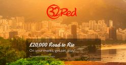 Road to Rio bonus at 32Red