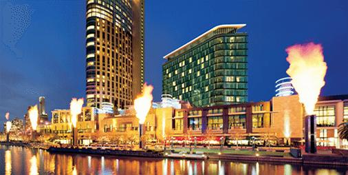 Melbourne's Crown Casino & Entertainment Complex