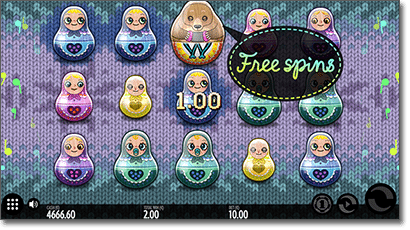 Babushkas free spins bonus