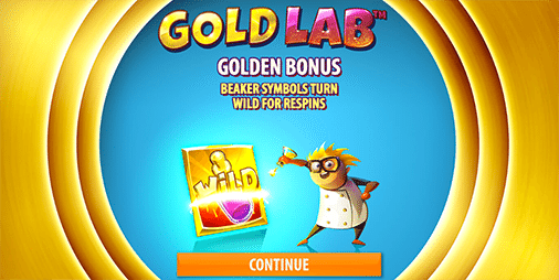 Gold Lab by Quickspin