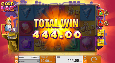 Big wins on Gold Lab slots