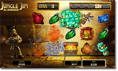 Jungle Jim El Dorado free spins