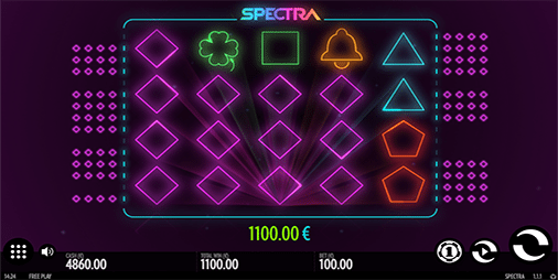 Spectra online pokies