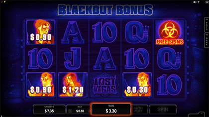 Lost Vegas Blackout Bonus