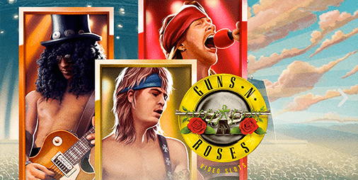 Guns N Roses online slots game