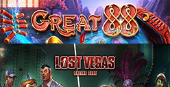 Great 88 and Lost Vegas slot games