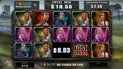 Lost Vegas Stash free spins