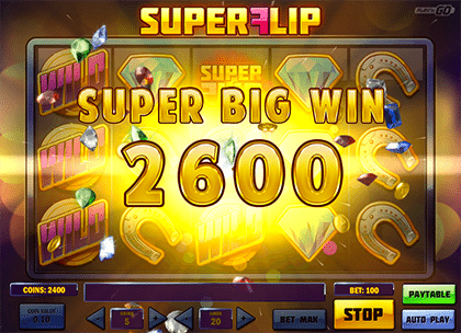 Super Flip big win