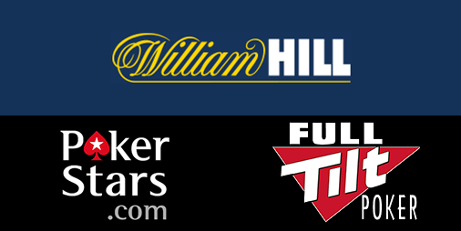 William Hill, PokerStars and Full Tilt Poker