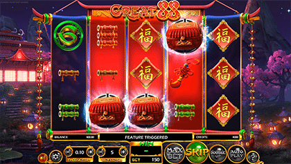 Great 88 slots features