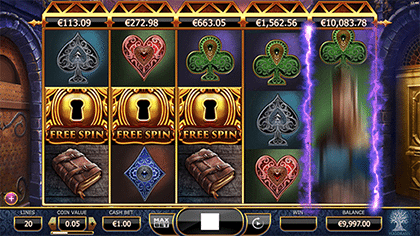 Holmes and the Stolen Stones free spins