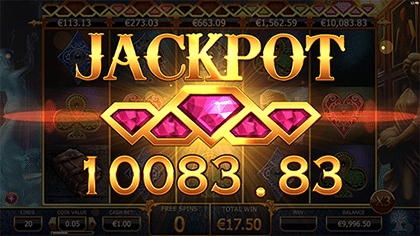 Holmes and the Stolen Stones slots jackpot