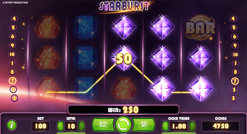 Both ways wins on Starburst