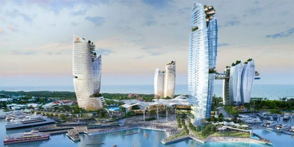 $3bn Gold Coast casino plans at Southport Spit