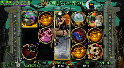 RTG Bubble Bubble online slot game