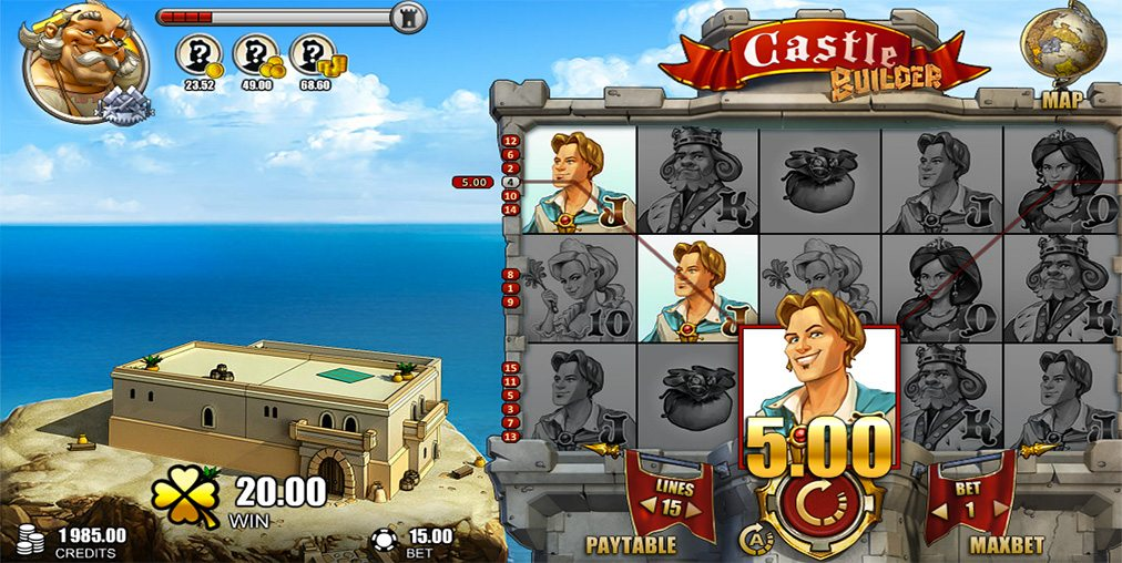 Castle Builder II Slot - Play Online for Free or Real Money