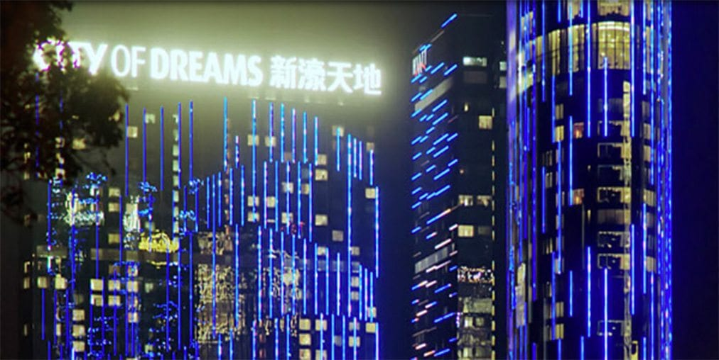 City of Dreams Macau casino resort in Macau