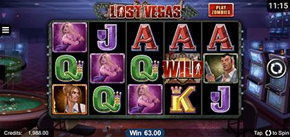 Lost Vegas iOS slot game