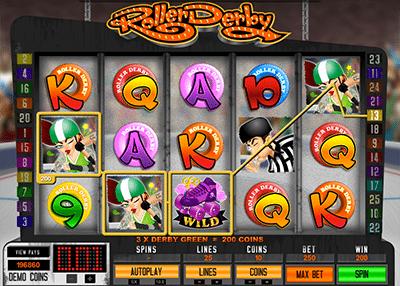 Roller Derby online slot