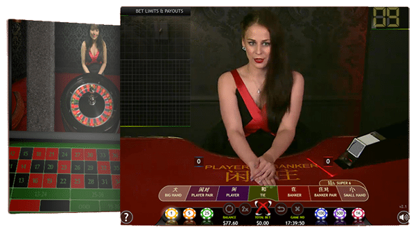 RealTime Gaming live casino