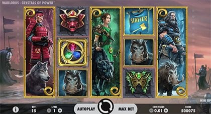 NetEnt Crystals of Power online slots