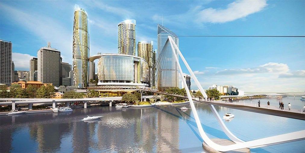 $3bn casino resort project a Queens Wharf, Brisbane