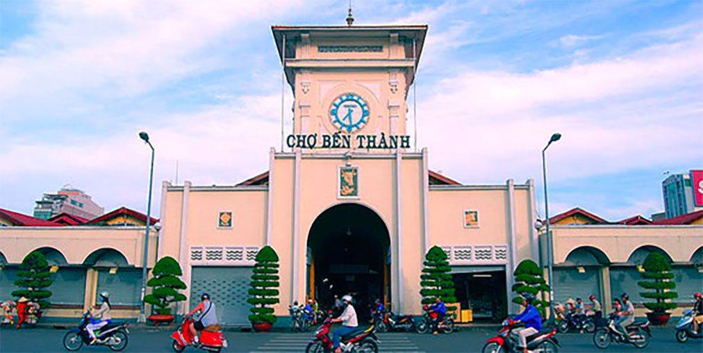 Vietnamese market in Ho Chi Minh City